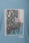 "Preview: MAN T-SHIRT ""You can go your own way"" J6S Gr. M cloud blue"