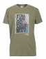"Preview: MAN T-SHIRT ""You can go your own way"" J6S Gr. L dusky green"