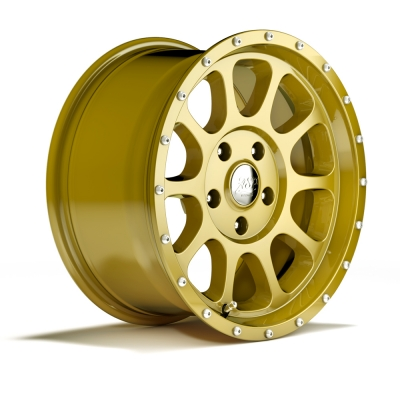 Alloys Alufelge gold 8,5x17 ET +12
