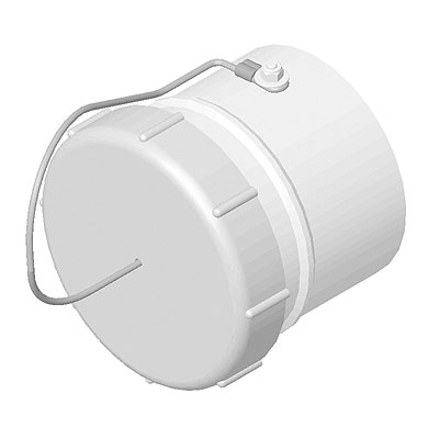 100mm Conduit End Cap & Sleeve