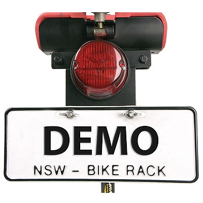 Bike Rack Number Plate Holder (NPH-7F)