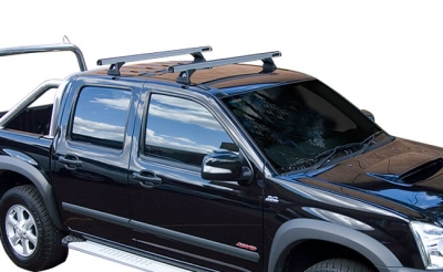 Heavy Duty Track Mount Roof Rack System Isuzu D-Max Bj. 8/08 Cre