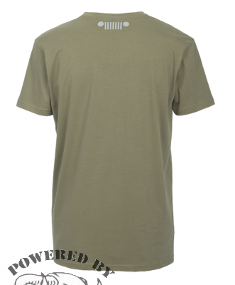 "MAN T-SHIRT ""You can go your own way"" J6S Gr. L dusky green"
