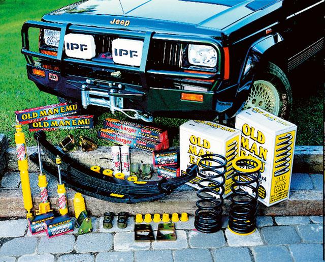 jeep fahrwerk - jeep zubehör - jeep jk - ome-höherlegung +20 mm