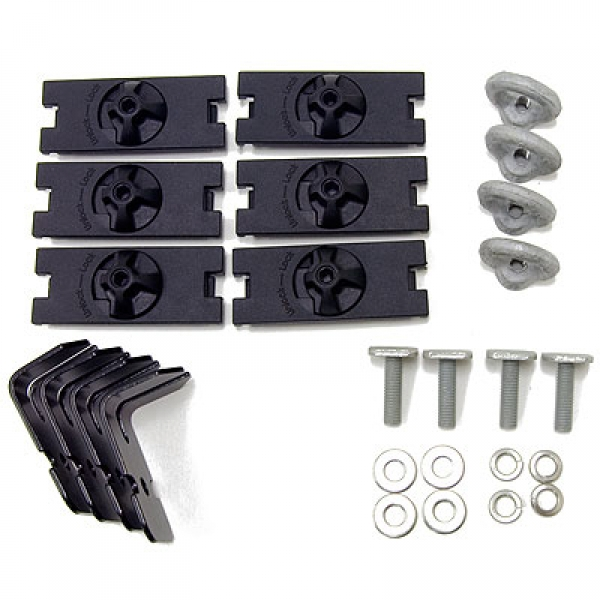 Aero/Sportz Fitting Kit suits 2 bars & 4 Alloy Tray Planks
